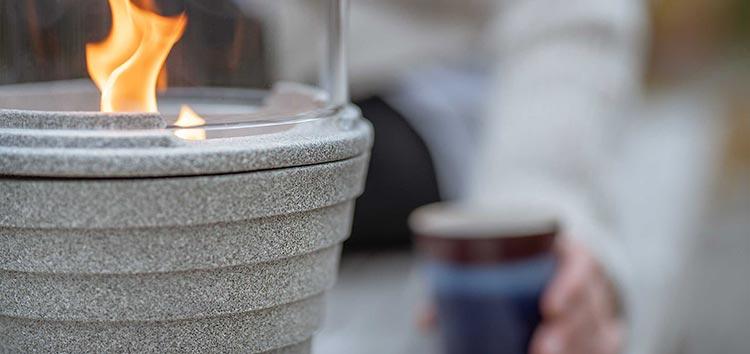 Outdoor Granicium mit Lichtglas